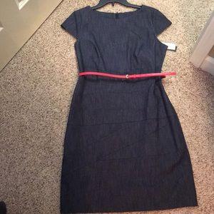 ALYX denim cap sleeve dress, size 12
